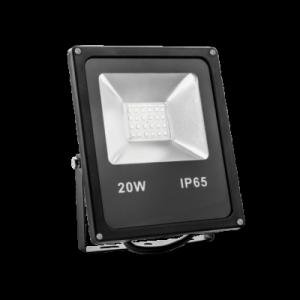 LED reflektor 20W SMD2835, STUDENÁ bílá, 12V
